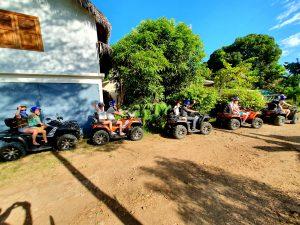 Zwiedzanie wyspy na Quadach ATV